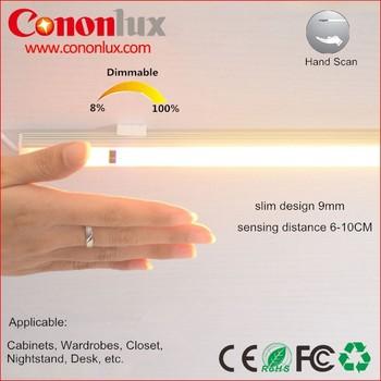 9w Aluminum Hand Sweep Senstive Dimmable Led Light Bar,Under ...