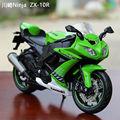 MAISTO Diecast Motocycle 1 12 3 Colors Kawasaki Ninja ZX 10R Racing Moto Kids Gifts Collection