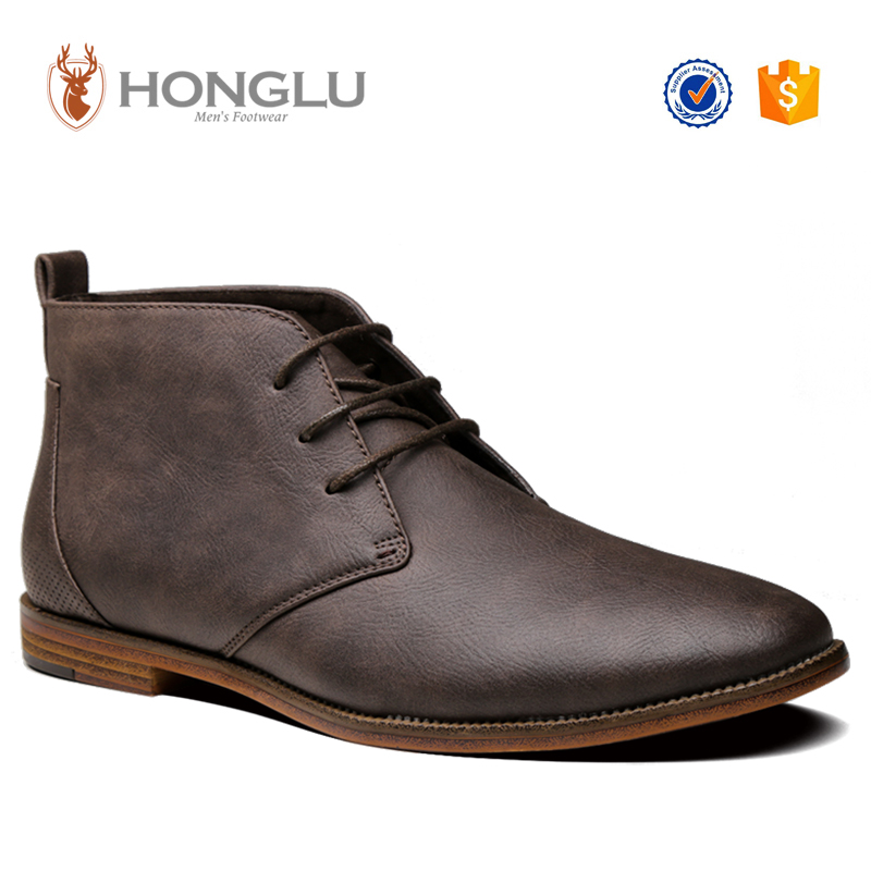 New Style Suede PU Men Casual Boots, Designer Boot Shoes For Men, Hot Sale Men Ankle Boots
