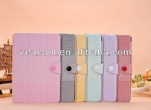 "PU Leather Smart Case Stand Cover For Apple Ipad MINI 7""tablet case"