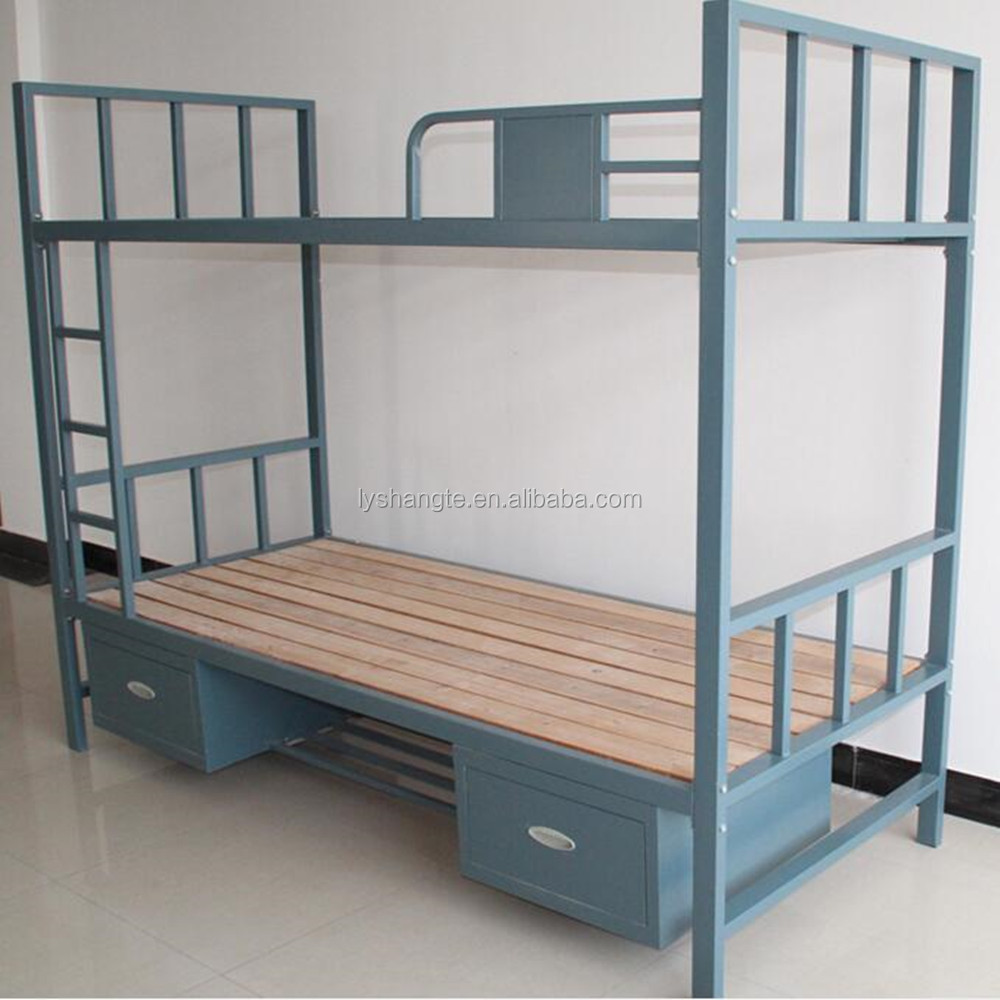 Steel double deck bed - Metal Double Bunk Bed Metal Double Bunk Bed Suppliers And Manufacturers At Alibaba Com