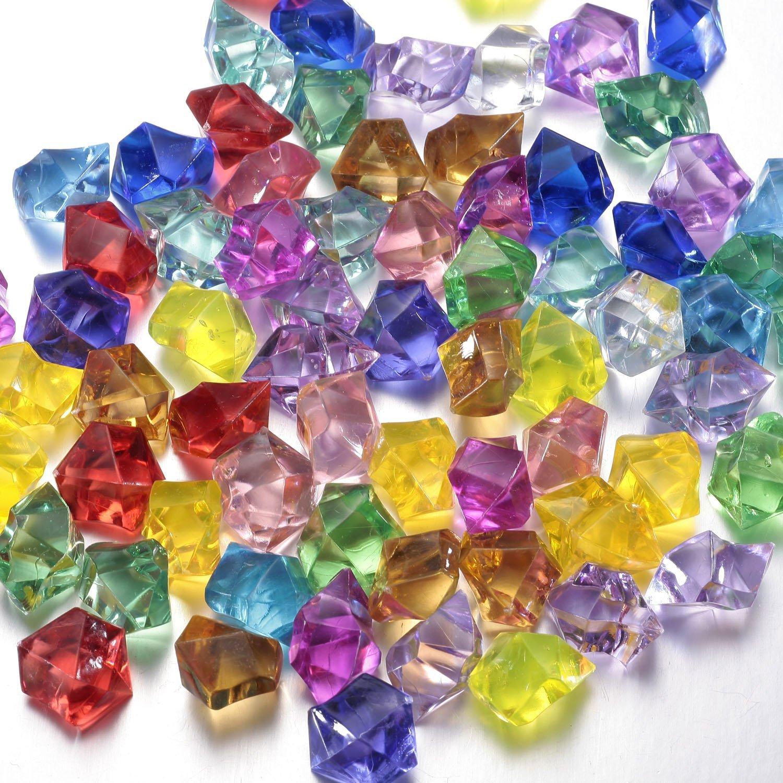 Buy Multi Colored Acrylic Diamonds Pirate Treasure Jewels For