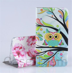 Colorful Leather Case for Infinix Hot S3 X573 case,Cartoon Flower case for Infinix Hot S3 X573 cover