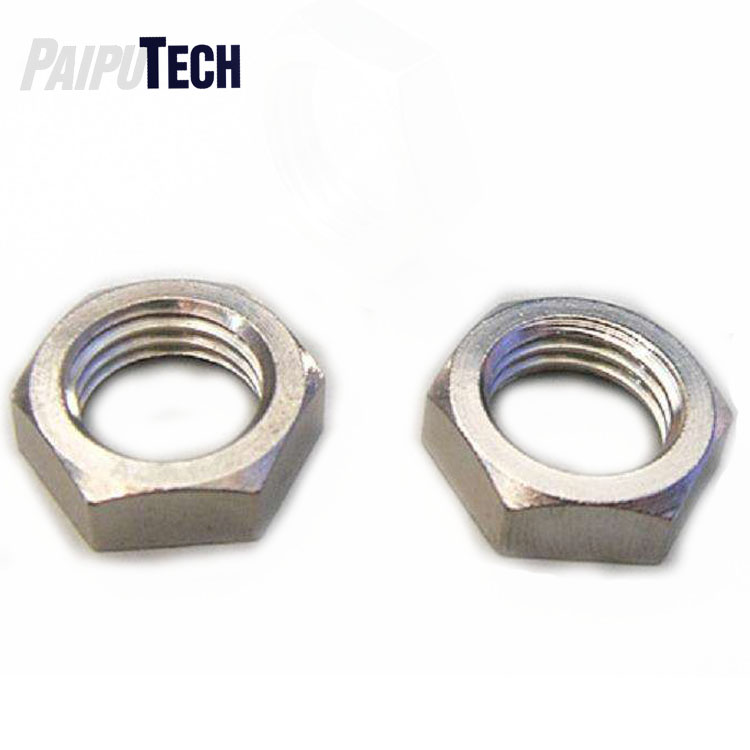 Size: M12x1.25 Pitch Nuts 5 PCS Hexagon Fine Pitch Nuts 304 Stainless Steel Hexagonal Hex Tight NUT