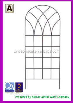 Treillis treillis treillis m tallique utilis dans le jardin pour twining plantes et vigne - Treillis metallique jardin ...