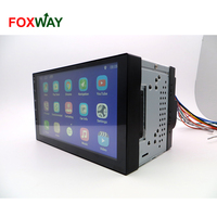 factry price 7inch hd display Android Universal car audio with WIFI BT 3G 4G entertainment system