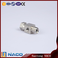 Water And Gas Industrial Stainless Steel Non-standard 3 Way Pipe Fitting