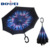 2020 wholesale portable logo customize double layer inverted umbrella