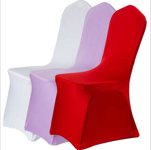 Wholesale Spandex Chair Cover For Banqut Meeting Room Wedding Hotel Colorful Spandex Chair Covers