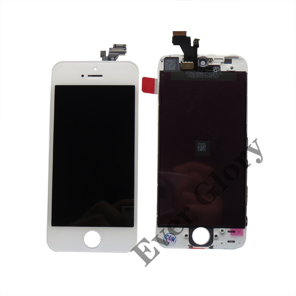 Hot Sale! High Quality Alibaba China Supplier LCD Display Touch Screen Digitizer Assembly For Apple iPhone 5G White
