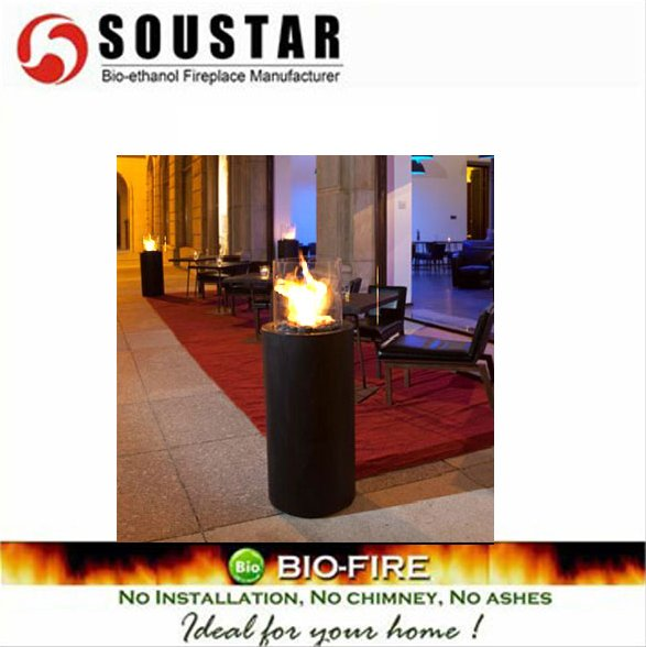SOUSTAR AF-916B freestanding ethanol outdoor fireplace