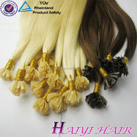 2016 New Arrival Last 12 Months Double Drawn Full Cuticle Russia hair 100% human hair keratin i tip/u tip