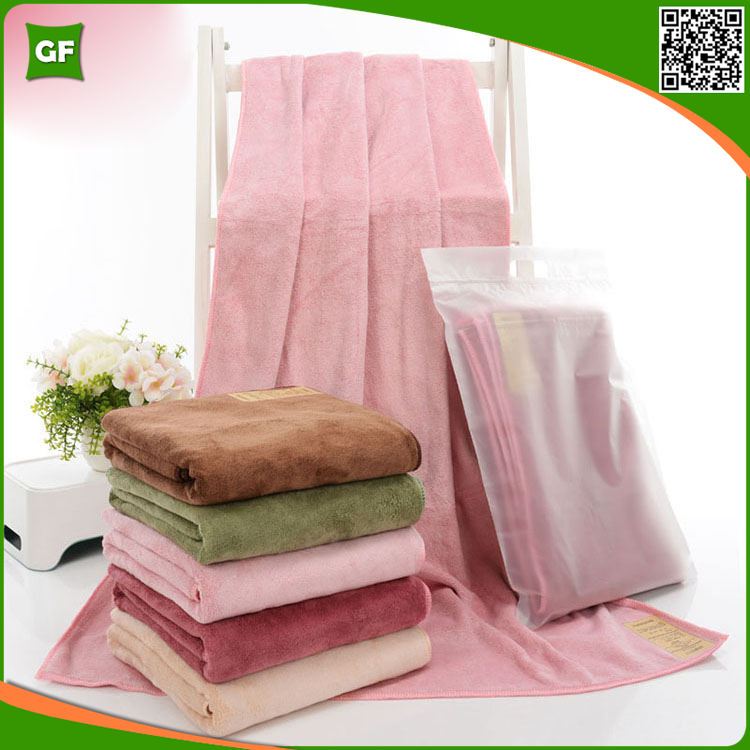 China Factory Wholesale Dobby Soft Bath Towel Set Custom <strong>Logo</strong> Accepted