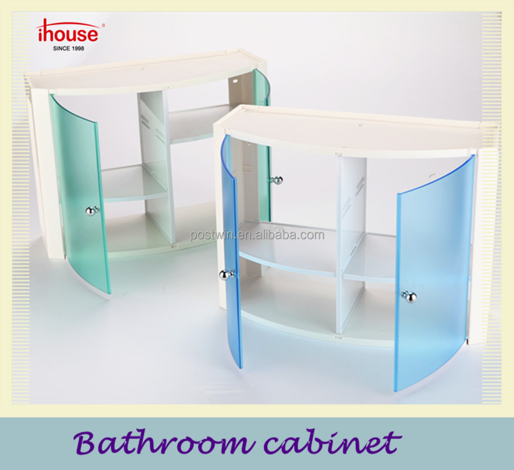 Ihouse Waterproof Plastic Bathroom Cabinet Storage Box Vanities Product On Alibaba