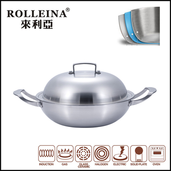 multilayer stainless steel wok316 wok sweet potato korean wok chicken rice aluminum wok