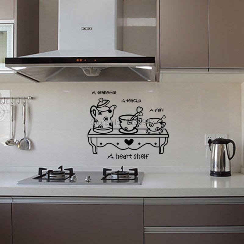 Latest Kitchen Sticker Wall Sticker Home Decor Cabinet
