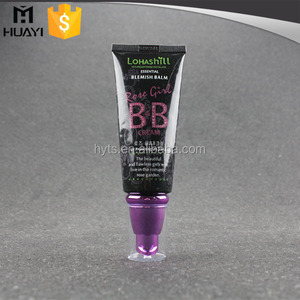 80ml PE Plastic Cosmetic Tubes with cream pump and cap for lotion