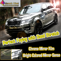 Zebra Skin Matte Chrome Red/ Blue Crocodile Car Wrap Vinyl Film