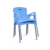 2019 Latest Colorful Plastic Stackable chair Outdoor Plastic sillas plastico Dining Office PP Chair plastic