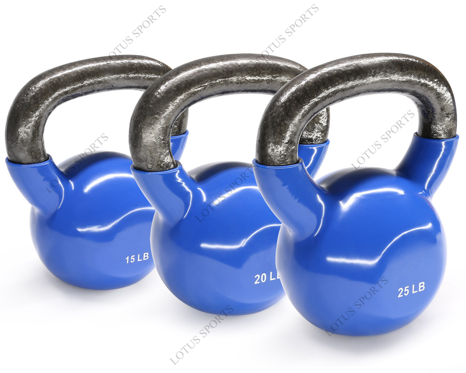 Commercial gym use customize logo round PU dumbbell