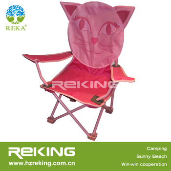 Animal Printed Small Folding Kids Camping Chair Buy Pink