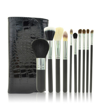 synthetic hair brush material and face use makeup brushes