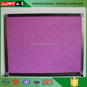 High quality fabric notice board decoration felt letter board