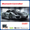 mid size scale car open door car mobile control toy model cars porsche