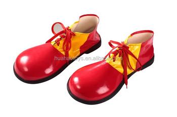 Chaussures De Clown Rouge Jaune 2cj1j3x