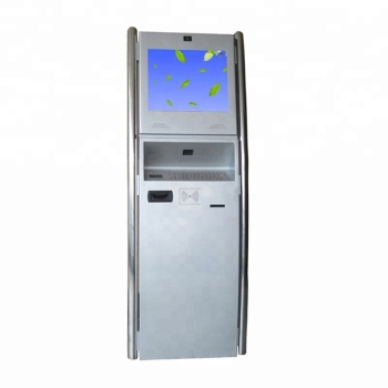 New  custom touch kiosk with note acceptor