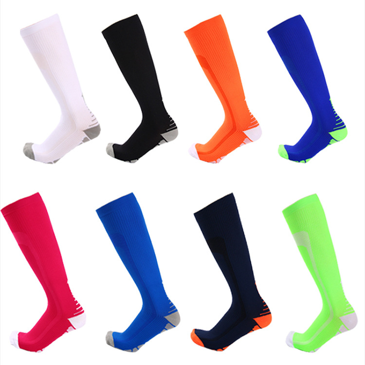BEST Graduated Athletic & Medical for Men Women Running Flight Travels medical compression socks, Customized colors