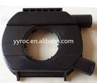 PC injection moulded plastic products in black colour