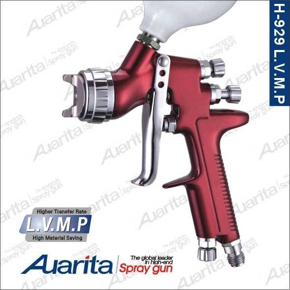 manufacturer high quality professional automobile, low pressure, environmental car painting spray gun H-929 LVMP