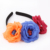 Masquerade Party Rose Flower Headband Halloween Sugar Skull Hair Band For Girls