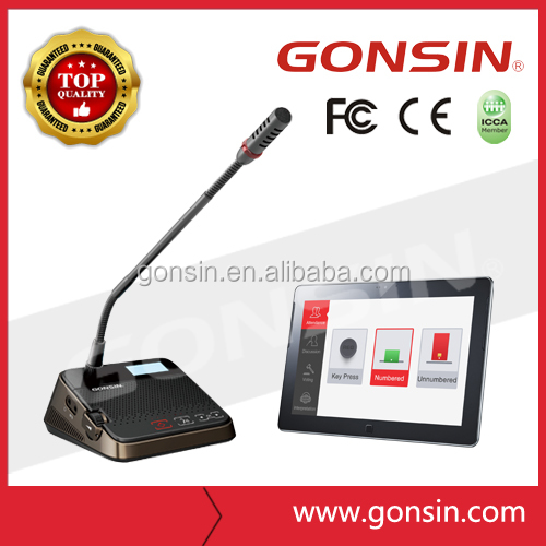 GONSIN DCS-2021 Conference Table Microphone System meeting microphone