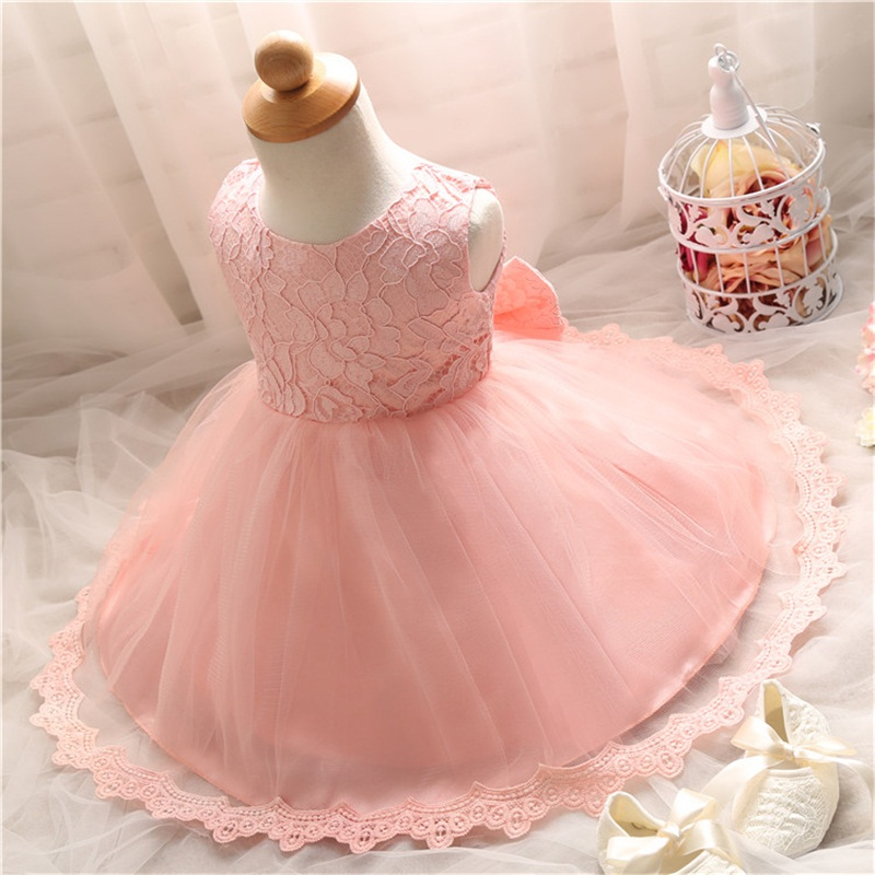New Brand Lace Princess Girls Dress For Crochet Barbie Princesse