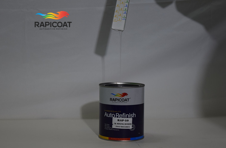 acrylic resin speed up the air drying of film1k mixing binder autobase viscosity and density spray application method small volu