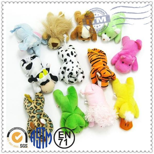 New Product 2015 plush toys magnetic animal