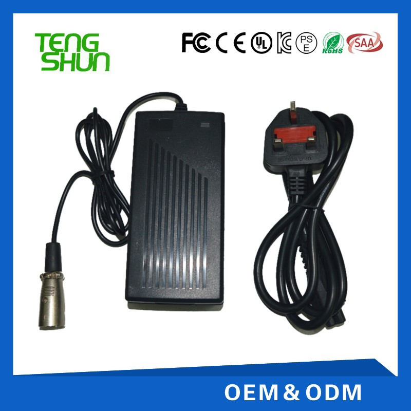 li-ion battery charger 12.6v 4a 16.8v 3a 25.2v 2a 24v 2a 29.4v 2a 36v 1.5a