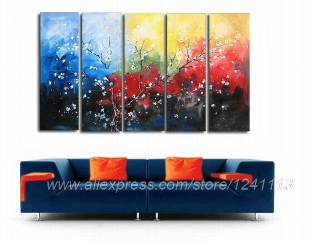 Buy The Plum Paintings Bedroom Decor Painting Oil Living ...
