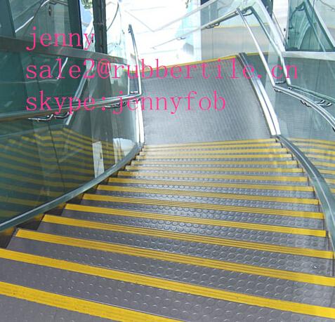 Rubber Flooring Tile For Stair Step