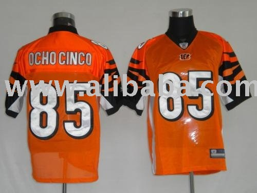 PAYPAL ACCEPT!!! Cincinnati Bengals 85 OCHO CINCO orange Jerseys
