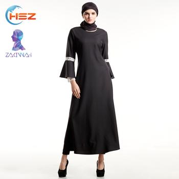 Zakiyyah E010 Modern Muslim Dress Latest Gown Design Abaya Dubai ...