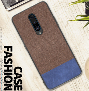 Phone Case 2019 New Linen Cloth Fabric Phone Cover For Oneplus 7 Pro Camera Protect Scratch Non Slip Case For Oneplus7 Pro