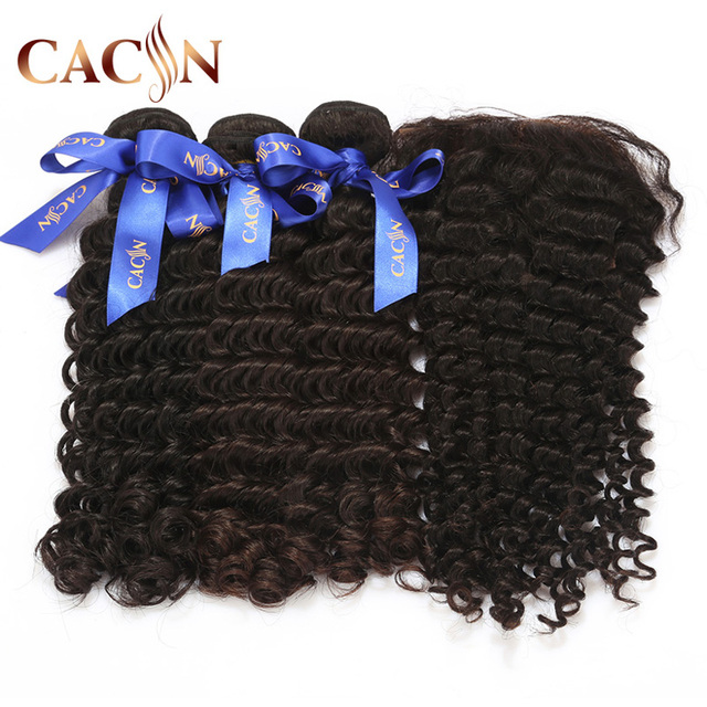 8A Grade virgin Brazilian hair weaving cheap peruvian virgin hair bundles with lace frontal closure