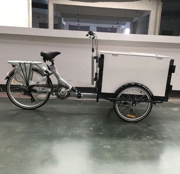 Model Ub 9005 Cargo Bike With Front Wooden Box For Selling Ice Cream Buy Cargo Tricyclecargo Tricyclecargo Tricycle Product On Alibabacom