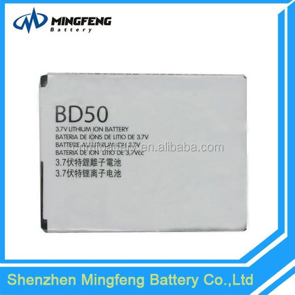 High Quality Rechargeable Compatible 3.7V BD50 Battery for Motorola EM325/EM25/F3