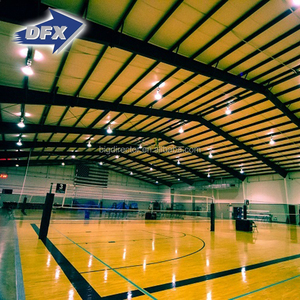Dfx Cheap Prefabricated Steel Structure Indoor Basketball Gyms Hall Design For Sale