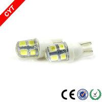 Wholesale auto/car W5W T10 LED lights 3030 8SMD T10 interior lamp reading light