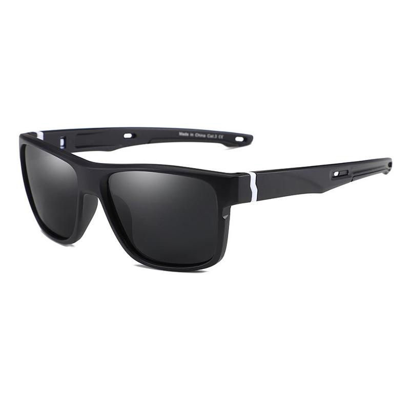 KDEAM OEM Own Brand Slap Sunglasses Men Polarized Vintage Rectangle Sun glasses UV400 anteojos Trending 2019
